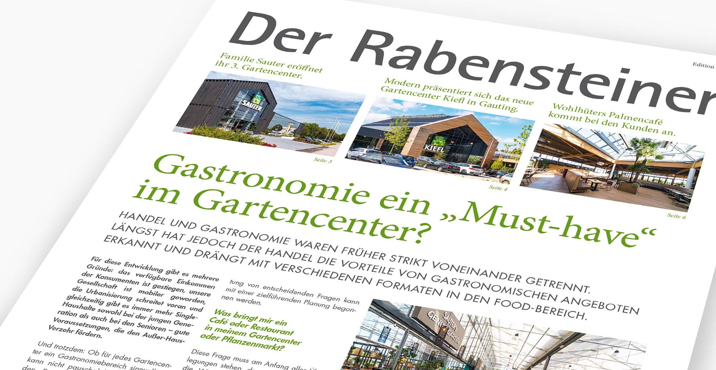 The Newsletter of Rabensteiner