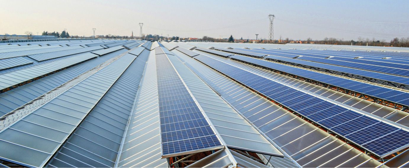 Greenhouses with photovoltaic system
