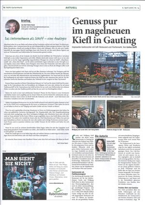 Gartencenter mit Café-Restaurant Kiefl in Gauting